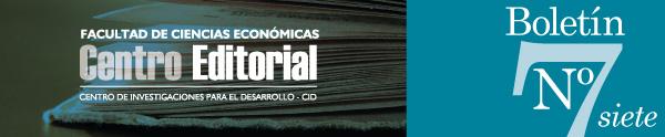 Facultad de Ciencias Económicas - CENTRO EDITORIAL- Centro de Investigaciones para el Desarrollo