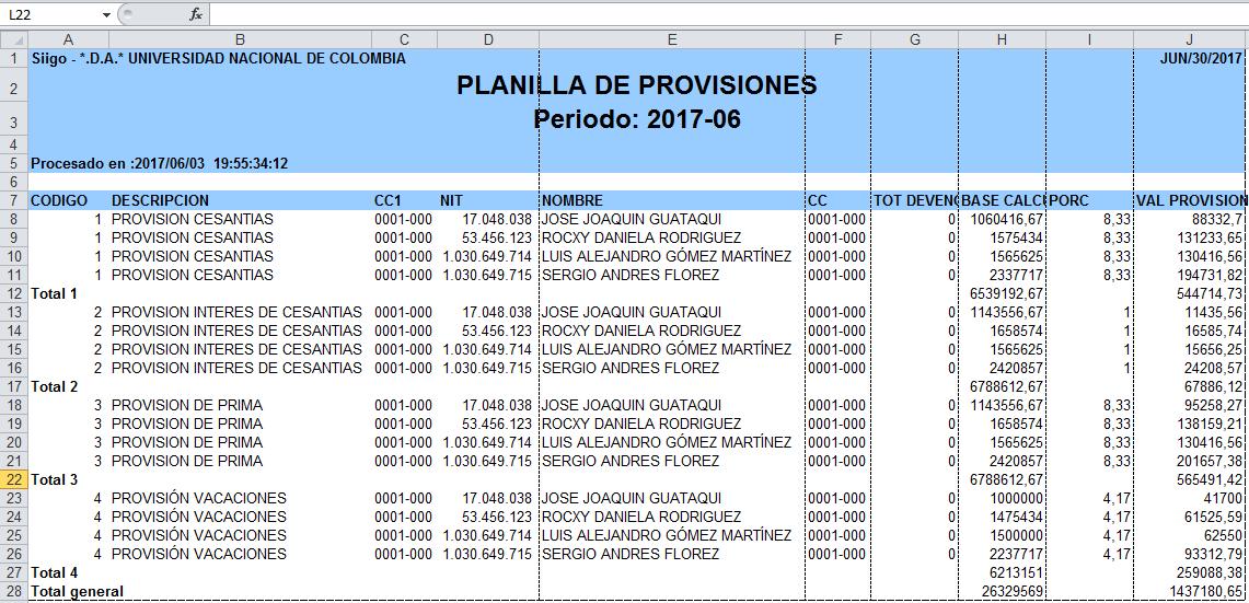 Tabla de calculo para seguridad social en colombia 2016 for Liquidacion de nomina excel 2016
